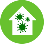 Mold In House, mold damage, mold removal, microbial growth, mold testing, air quality, sampling, asbestos, lead, environmental services